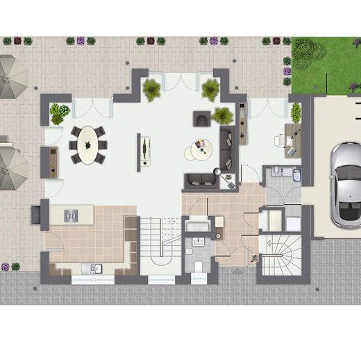 Fertighaus grundrisse einfamilienhaus  97 besten haus Bilder auf Pinterest