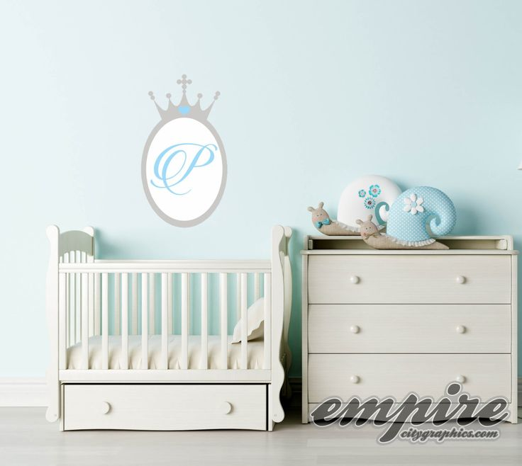 Best Paint With Vinyl Decals Images On Pinterest Vinyl - Monogram wall decal for nursery