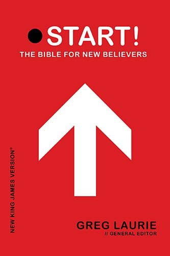 START here! New believer's Bible with notes by my pastor, Greg Laurie of Harvest Christian Fellowship.
