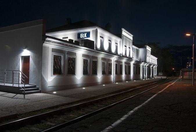 Dworzec w Ełku
