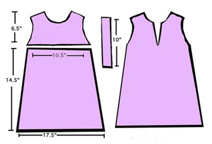 vestido niña | patrones niña | Pinterest