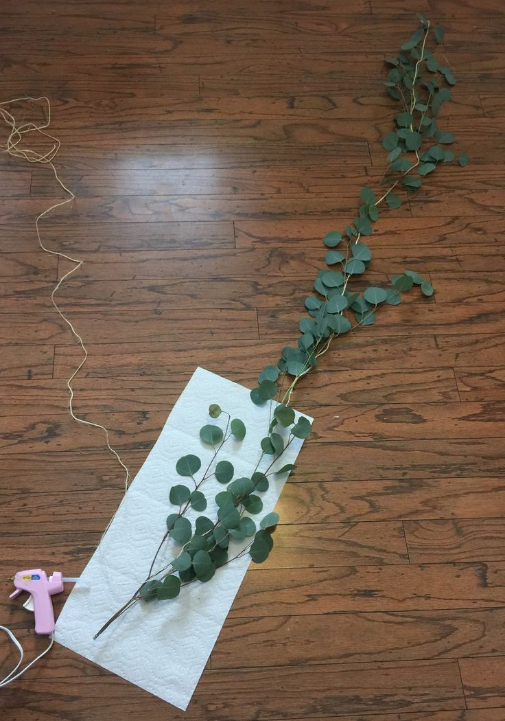 Avery Street Design Blog Diy Eucalyptus Garland Hopes And Dreams Pinterest Merry