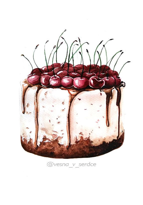 25+ best ideas about Cake Illustration on Pinterest Cake ...