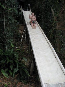 14 best hillside playground slide project images on pinterest another homemade slide adventure solutioingenieria Image collections