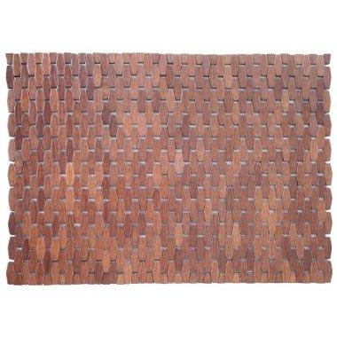 wooden bath mat, target