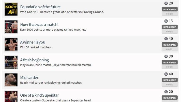 WWE 2K15 Achievement List: Adrian Neville, Sami Zayn, Warrior & NXT Mode Confirmed!
