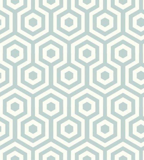 Texture papier peint beige et vert-bleu graphique
