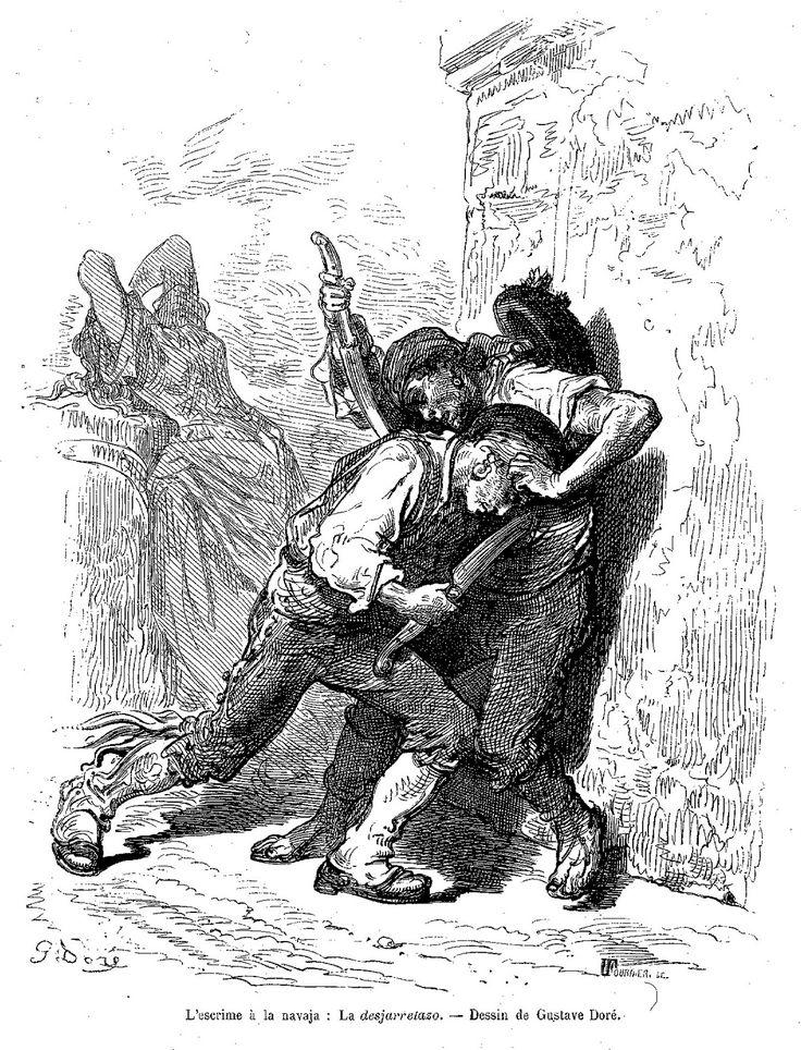 Duelo con navajas de Doré.