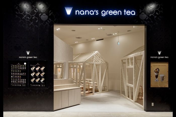 nana's green tea 広島トランヴェールビルディング店   オフィスデザイン、店舗デザイン事例 みんなの仕事場