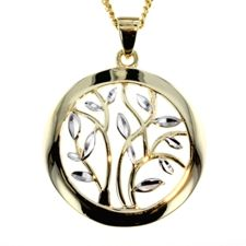 Shop for - Pendants - 9ct White & Yellow Gold