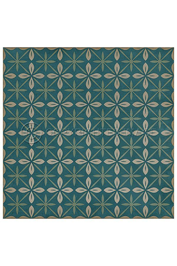 Estrellita Adriatic Vinyl Floor Cloth In 2020 Vinyl Flooring Floor Cloth Flooring