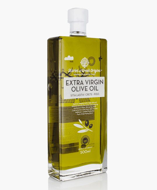 Stories of Greek Origins olive oil packaging. I love the shape & the simple graphics; different from other bottles I usually see at the store!