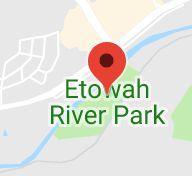 Map of etowah river park