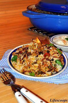 Hyderabadi Mutton Biryani, Dum Biriyani, Authentic Biryani recipe