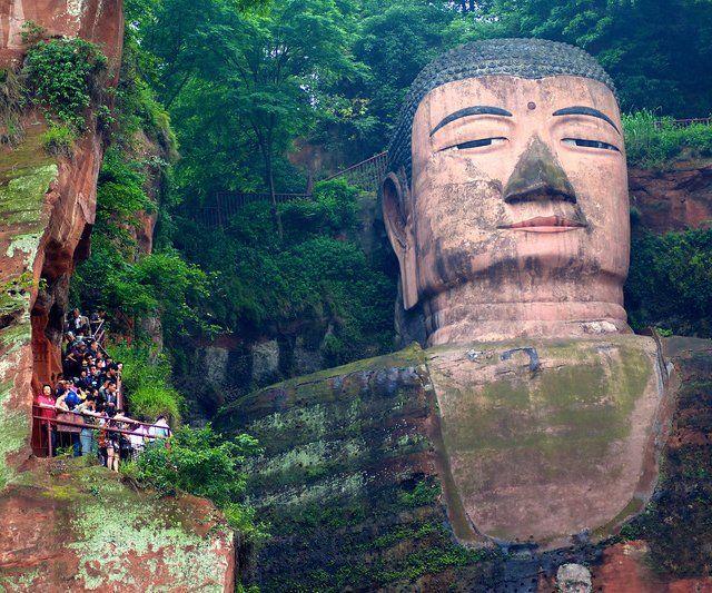 Leshan Grand Buddha in China