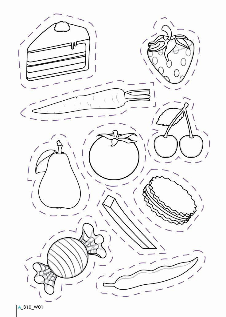 Pin On Example Food Coloring Pages