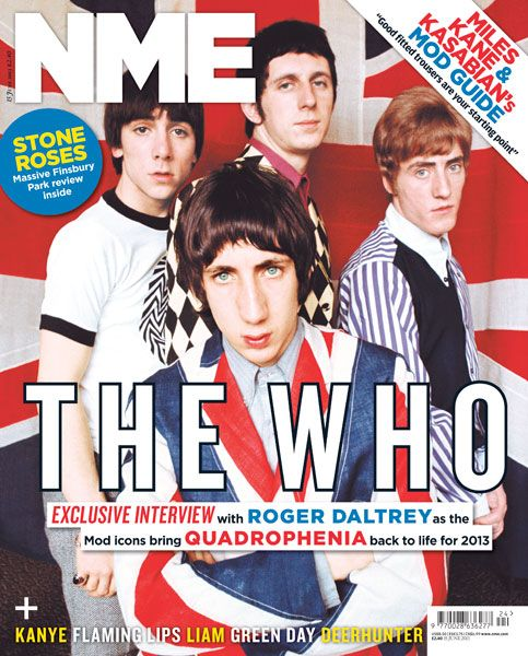 NME Magazine cover, The Who, June 15th 2013
