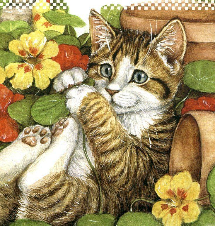 Днем рождения, открытки с животными анимация