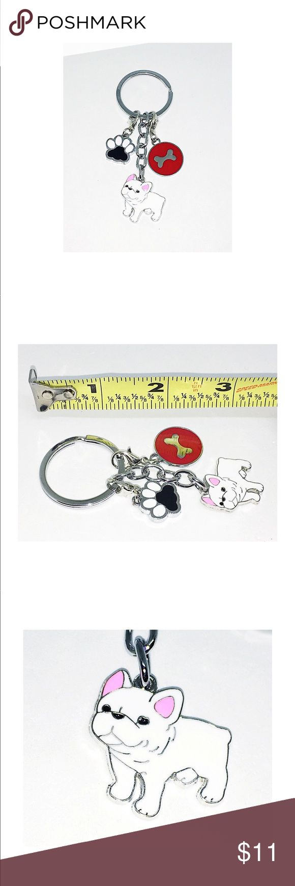 Best 25 french bulldog weight ideas on pinterest french bulldog french bulldog purse charmkey chain in white nwt nvjuhfo Gallery