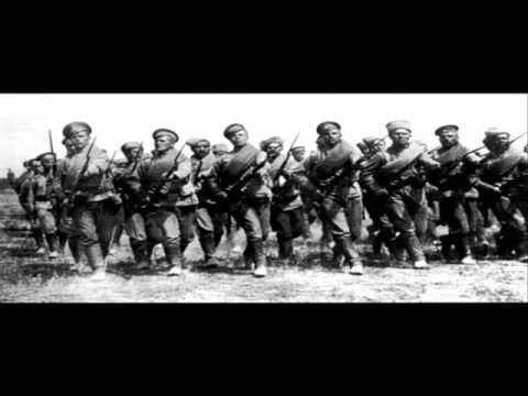 Марш Сибирских стрелков 1914 года - Хор