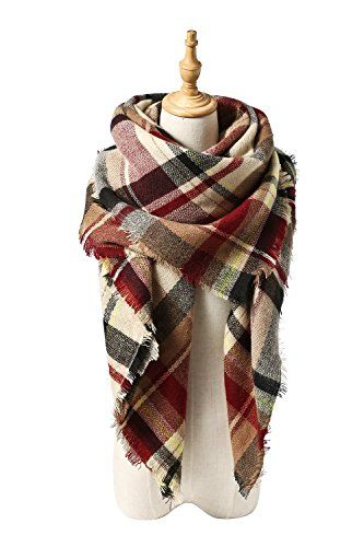 VIISHOW Stylish Warm Decke Schal Wunderschöne Wrap Schal