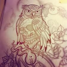 owl drawing - Google Search