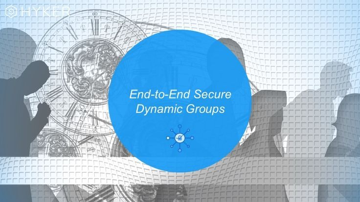 HYKER end-to-end encryption compared to Signal and Perfect Forward Secrecy (PFS).
