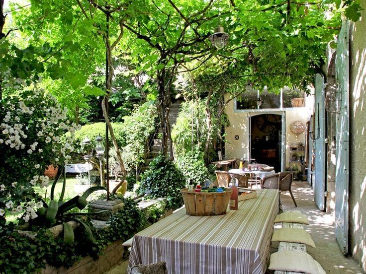 275 best Déco de jardin images on Pinterest | Pergolas, Garden ...