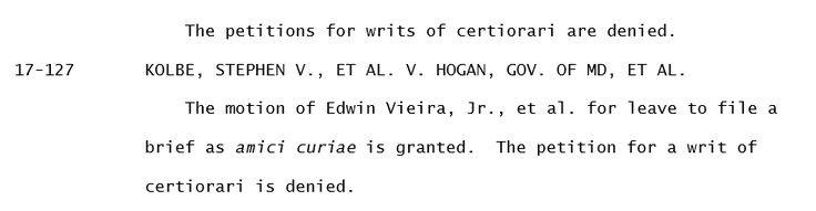 Supreme Court Guts Second Amendment By Refusing To Hear Semi-Auto Ban Case