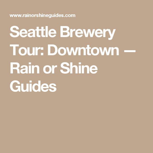 Best 25 Seattle breweries ideas on Pinterest