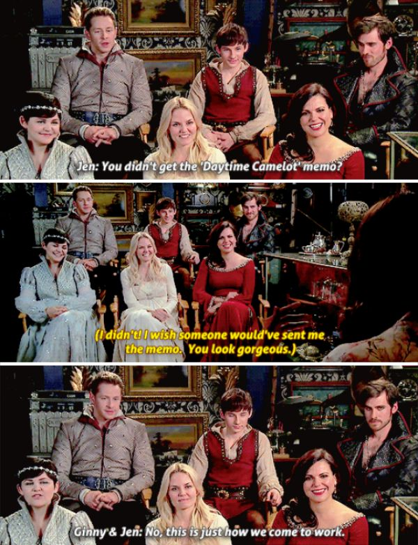 Once Upon a Time cast on Good Morning America (Nov 13th, 2015)