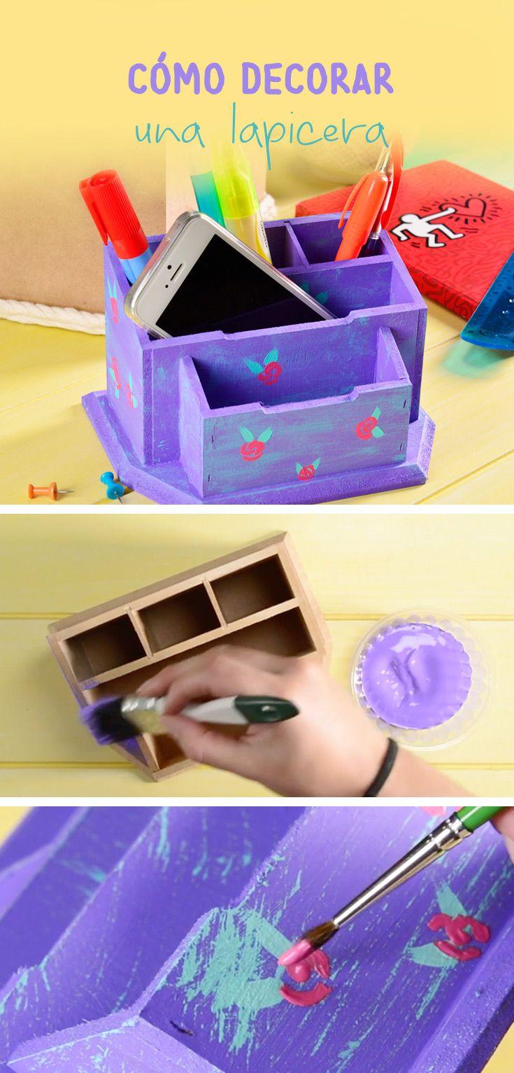 Este tip es muy sencillo, podrás decorar una lapicera y hacer que tu escritorio luzca increíble, puedes utilizar los colores que más te gusten.