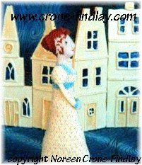 Jane Austen or Emily Dickinson doll to knit PDF by NCroneFindlay