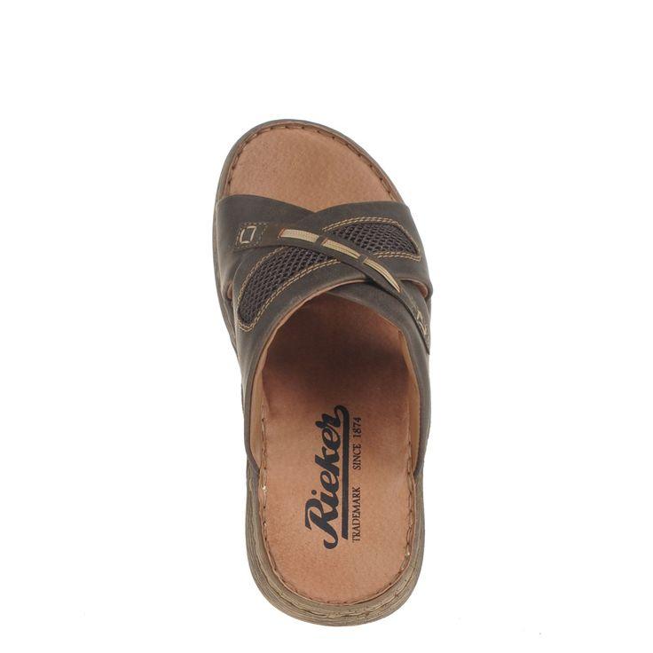 Bekijk nu deze Rieker heren slippers bruin op Nelson.nl. ✓ Snel geleverd ✓ Gratis verzending v.a. 39,95