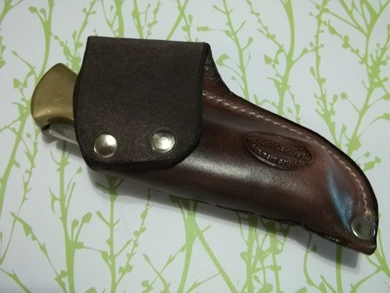 Leather knife Sheath Buck 110 JS110-049RT by JSLeatherworks