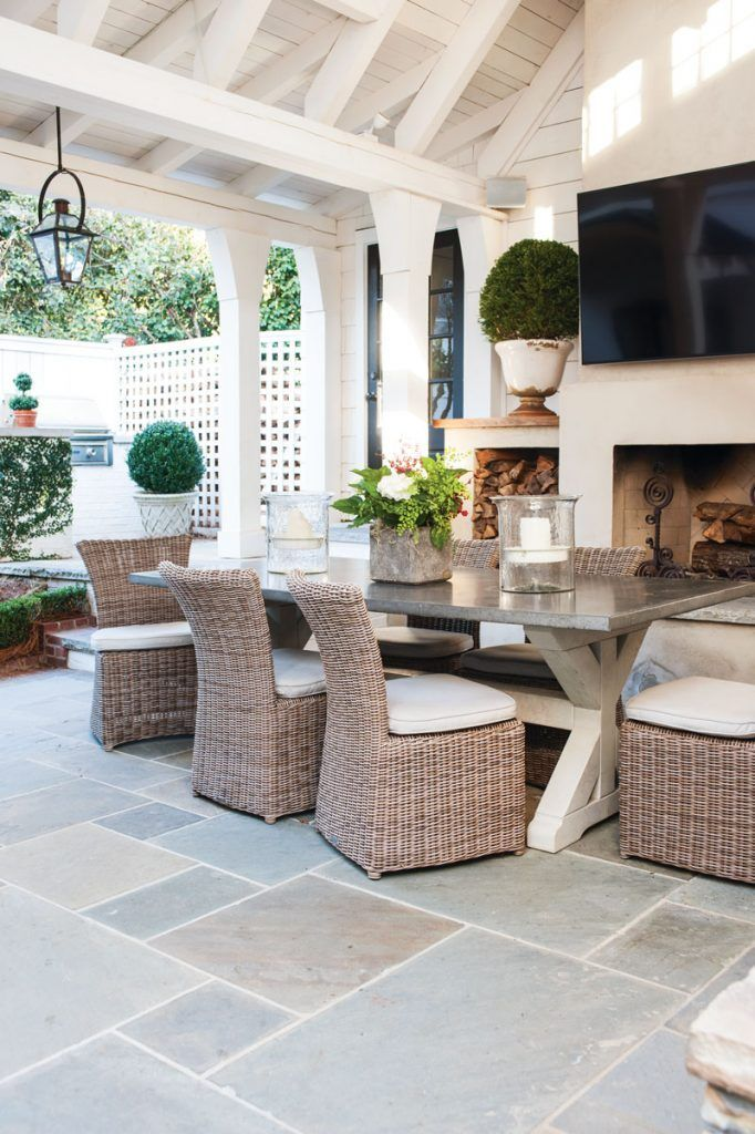 A Timeless Colonial Revival Outdoor Rooms Patio Decor Outdoor