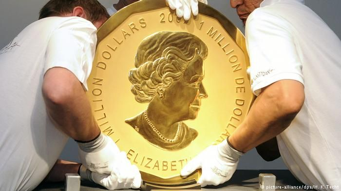 The Canadian gold coin is now thought to be in tiny pieces