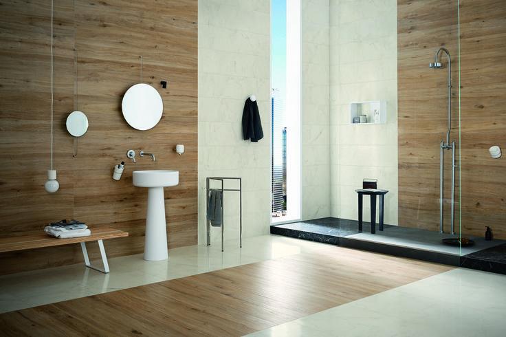 #Marazzi | #Treverktrend | #floor | #bathroom | #woodtiles | #andreaferrari | #allmarble | #outdoor | #walls