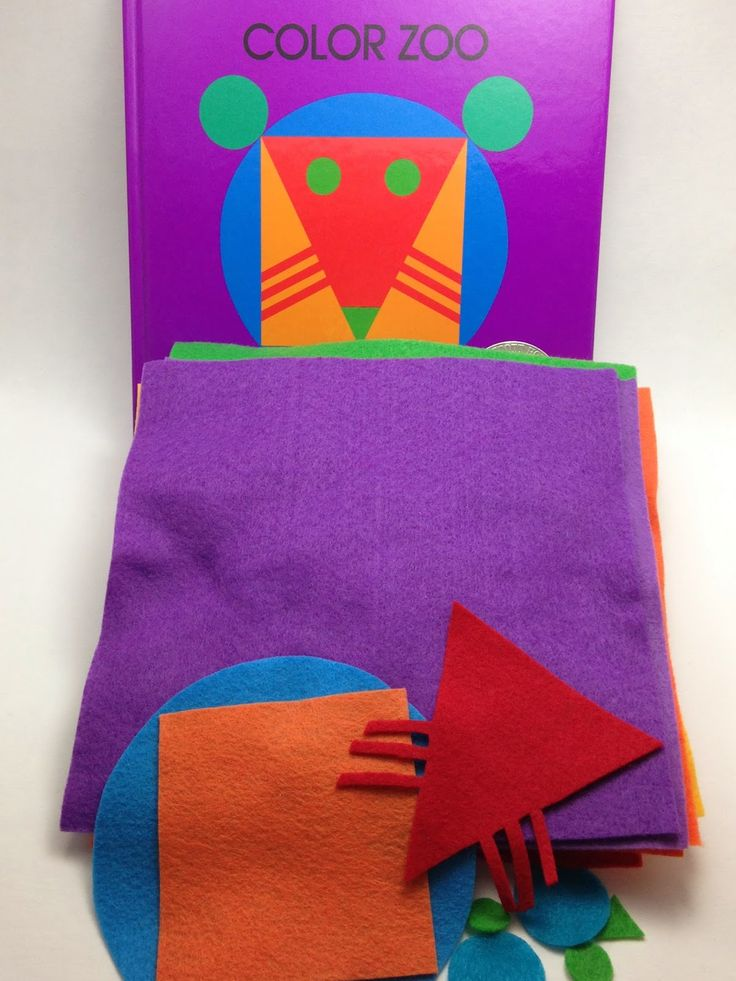 """Lois Ehlert's """"Color Zoo"""" Flannel Set 