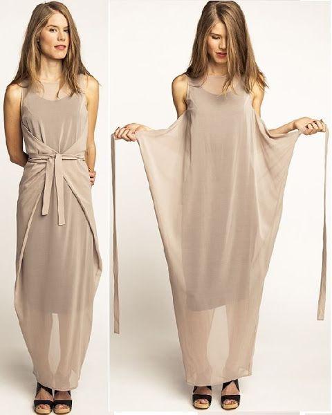 vestidos de verano - dos opciones en una