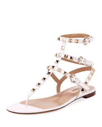 d382c43d30556 Rockstud+Leather+Thong+Sandals+by+Valentino+Garavani+at+Bergdorf+Goodman.