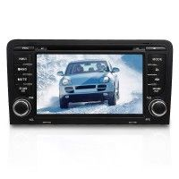 Image of Audi A3 7inch 2 DIN Car DVD Player with Bluetooth IPOD GPS Rear View Camera
