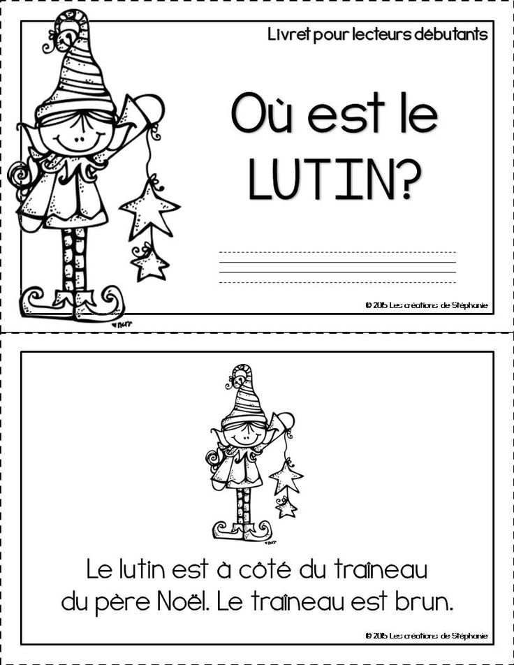 Livret pour lecteurs débutants : Où est le lutin?