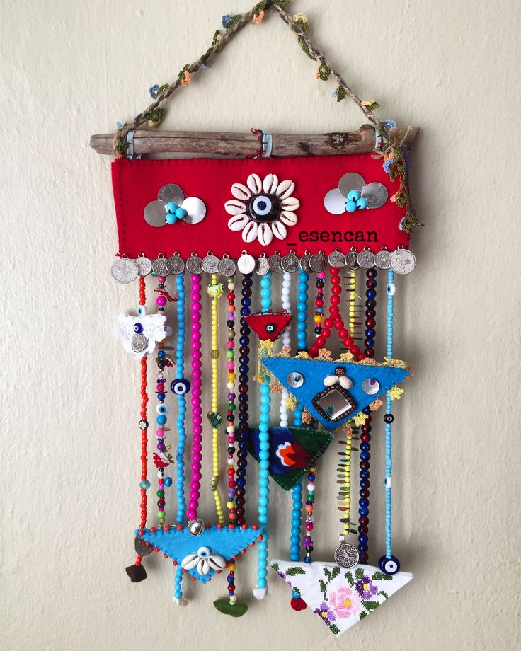 Nazarlık, nazar, keçe, nazar boncuğu, boncuk, gargalaklı nazarlık, gargalak, keçe nazarlık, sipariş, tasarım, felt, feltro, felt amulet, amulet, driftwood, turkish eye, hand made, design, ig:_esencan