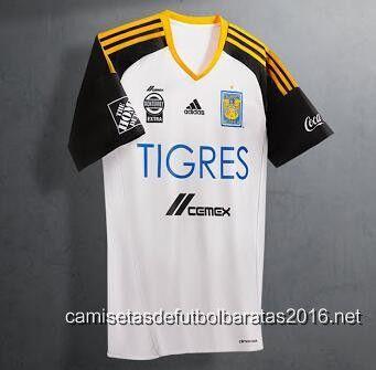 camisetas de futbol Tigres UANL 2016 3ª equipación €20.99