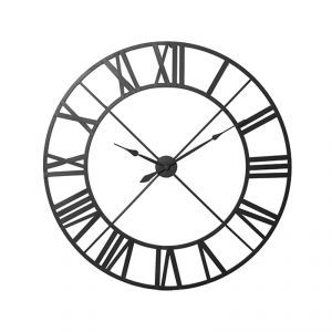 Oversized Wrought Iron Clock #RoomToBeDifferent