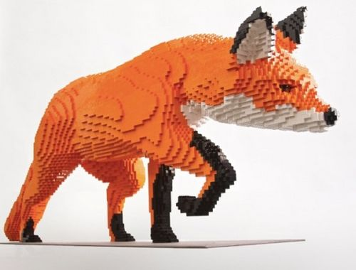 Awesome LEGO Creations - Lego Fox - Click Pic for 25 #lego #party #ideas