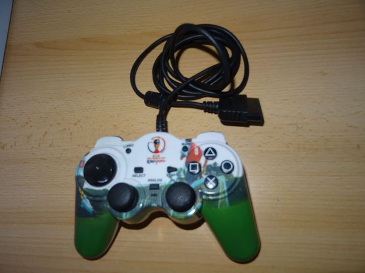 PS2 Playstation 2 Controller Thrustmaster 2002 Fifa World Cup   | eBay