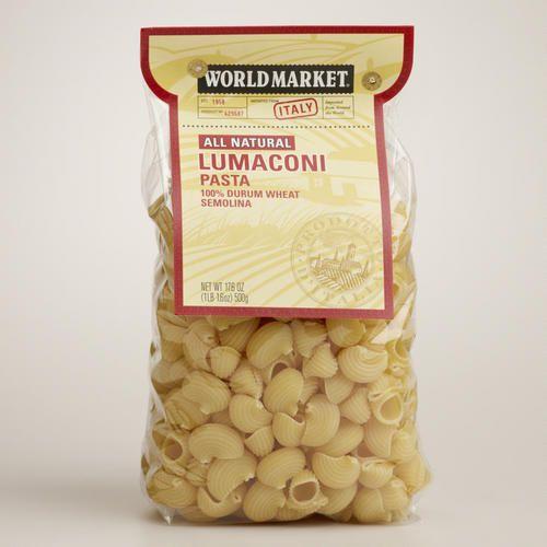 One of my favorite discoveries at WorldMarket.com: World Market® Lumaconi Pasta
