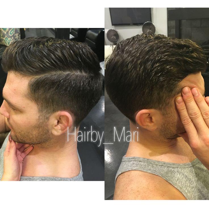 Men's gentleman haircut. Hair by Mari